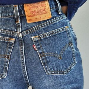 Levi's 512 Slim Tapered Straight Leg Jeans